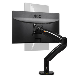 Image 2 - NB F100A Gas Spring Arm 22 35 inch Screen Monitor Holder 360 Rotate Tilt Swivel Desktop Monitor Mount Arm with Two USB Ports