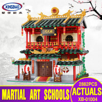 X Models Building toy Compatible with Lego X01004 2531Pcs Martial Art Blocks Toys Hobbies For Boys Girls Model Building Kits