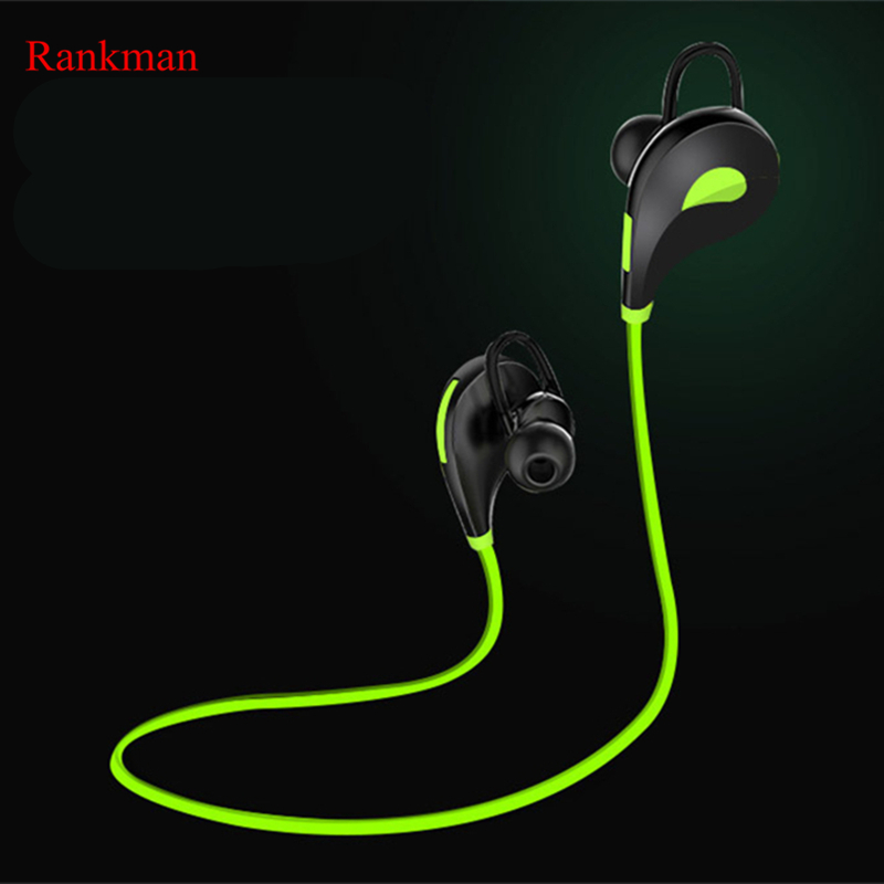 Sport Bluetooth Wireless Earphone  Sweatproof Noise Cancelling Earphone Super Bass Stereo Earbuds with HiFi Mic for Phones absolute stylish sport v4 1 q2 sound bass stereo bluetooth earphone wireless handfree with mic for phones