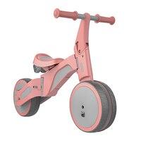 2018 деформируемый баланс автомобиля Tricycle2 в 1 для верховой езды и раздвижные двойной режим деформируемого двойной режим велосипед для детей