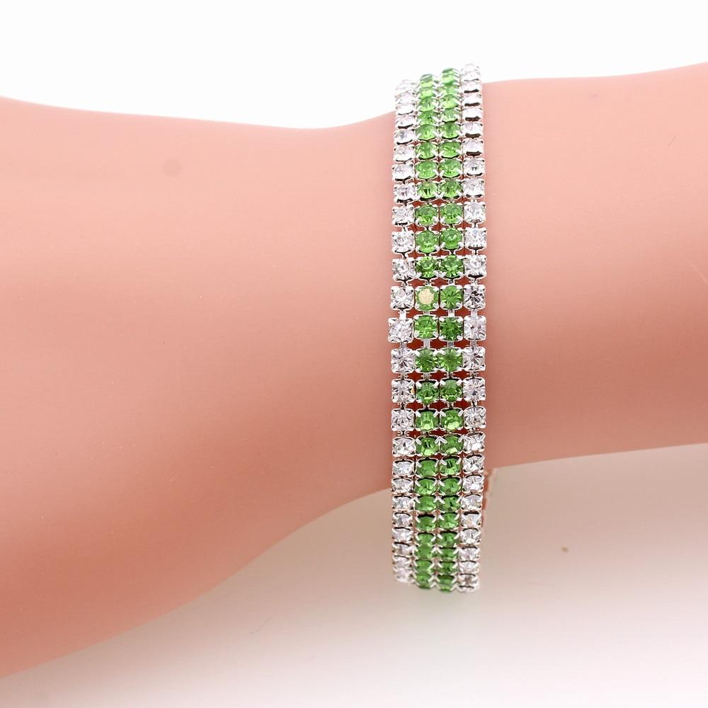 379e43a475d5 Detail Feedback Questions about Pulseras Mujer Moda 2019 Bracelet Femme  Women Ladies Female Green Red Rhinestone Bangle Statement Erkek Bileklik  Bransoletka ...