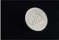 1pcs OEM Quality For MAYBACH Car Head Badge Logo Emblem Badge For Benz Grlle Emblem Hood