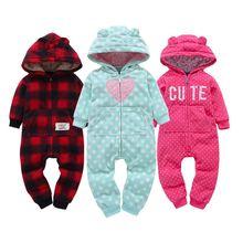 Детей Bebes для маленьких мальчиков и девочек Комбинезон рождественские костюмы для маленьких мальчиков детские комбинезоны одежда осень детские одним Pieces Одежда