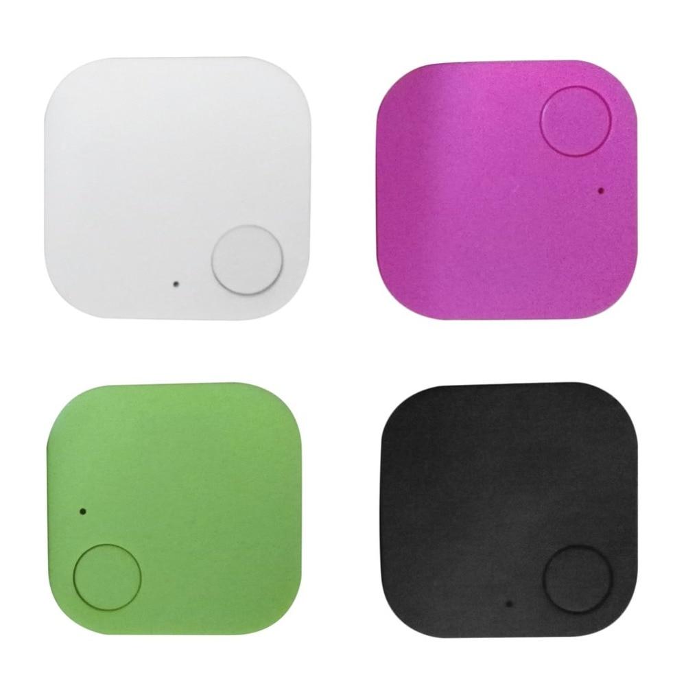 Square Bluetooth Locator Pet Tracker Alarm Wireless Anti-lost Tag Remote Selfie Shutter Seeker for Kids Bag Wallet Keys
