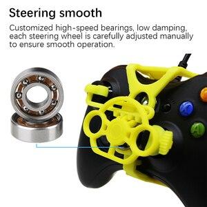 Image 2 - Xbox 360 Gaming Racestuur, 3D Gedrukt Mini Stuurwiel voeg op voor Xbox 360 Controller