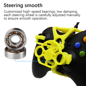 Image 2 - Xbox 360 Gaming Racing Wheel, 3D Printed Mini Steering Wheel add on for Xbox 360 Controller