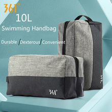 361 New Swimming Bag 10L Waterproof Bags Combo Dry Wet Storage Mens Large Pool Hiking Outdoor Sports Portable River