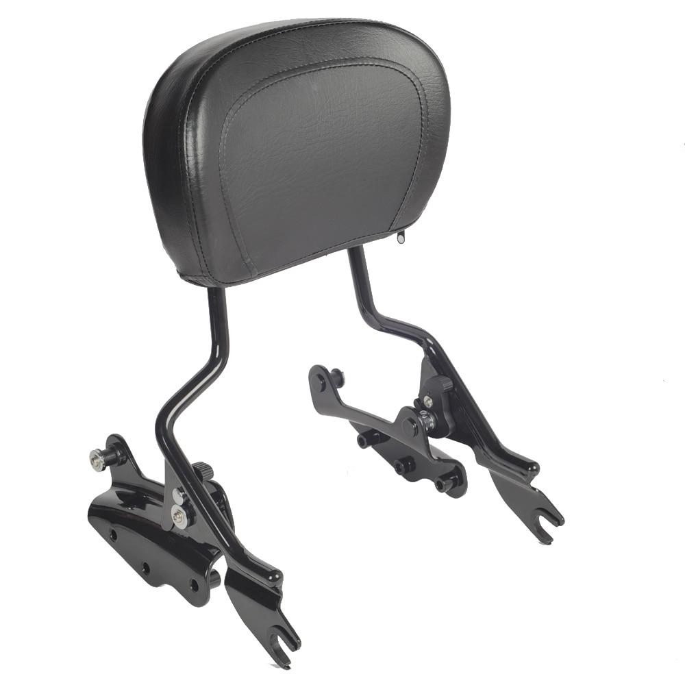 Спинка Sissybar+ 4 точки стыковки набор чехол & подставка для моделей туринг Харлей 2009-2013