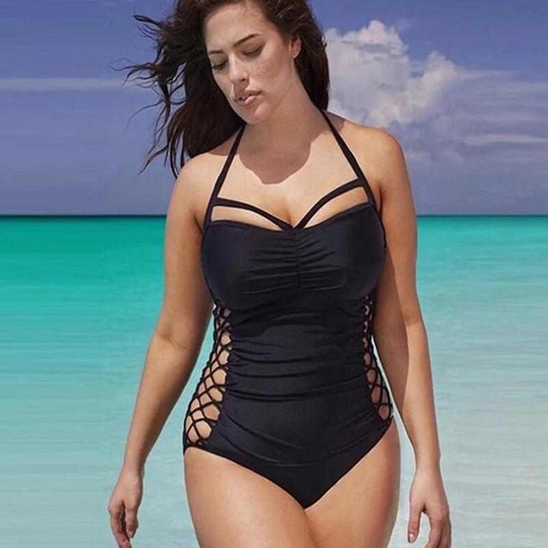 2019 sexy swimsuit ladies patchwork swimsuit Bikini tights suit swimsuit ladies beachwear elegant in Bikinis Set from Sports Entertainment