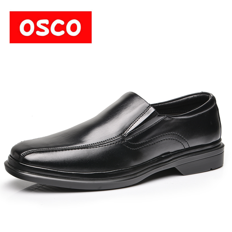 Mote Sneakers Loafers Menn Sko Sommer Business Dress Lær Sko - Herresko