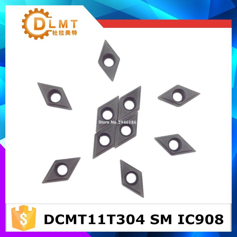 Tasuta kohaletoimetamine välistööriistad 10tk / partiid DCMT11T304 - Tööpingid ja tarvikud - Foto 2