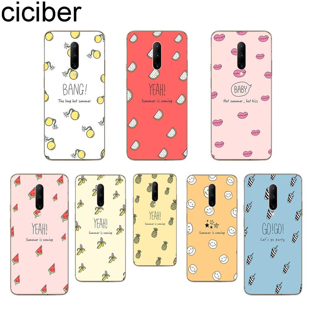 ciciber Cartoon Fruit Phone Cases For font b Oneplus b font font b 7 b font
