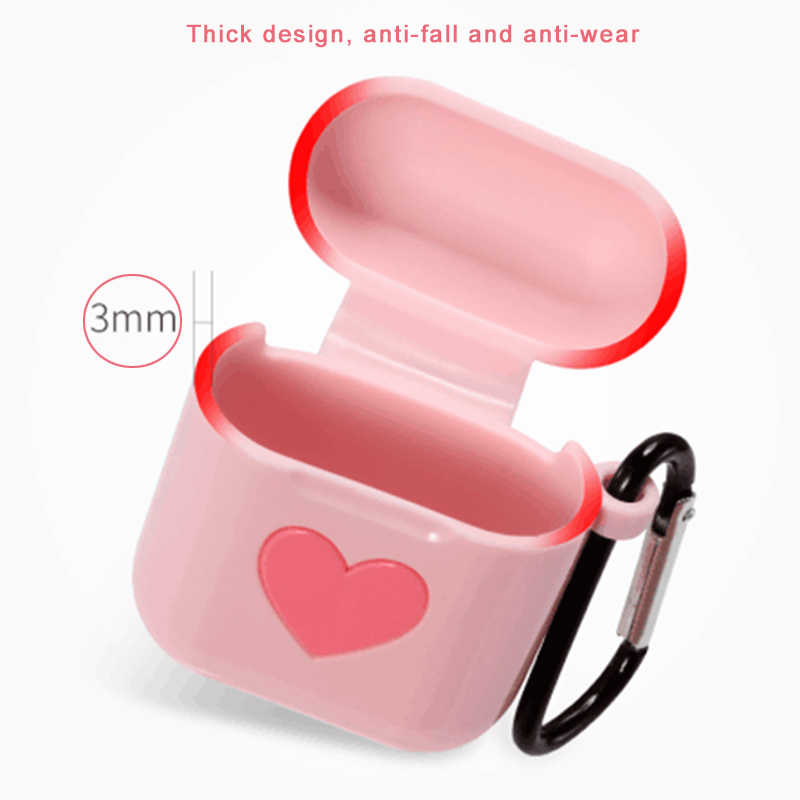 Cute Protective Cover For AirPods Case High Quality TPU Case for Airpods Charging Box Fashion Sleeve for Airpod For Air Pods