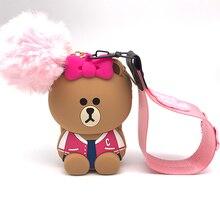 Q UNCLE Phone Lanyard Kawaii For Keys Pink Bow Mobile USB Holder DIY