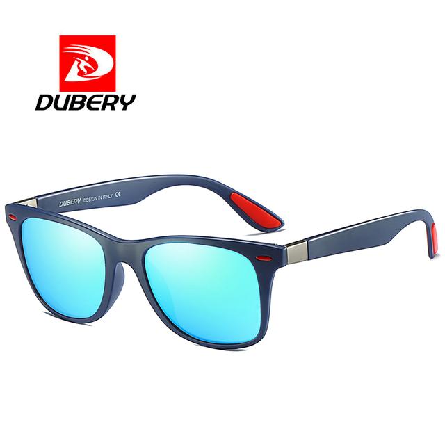 DUBERY fashion brand polarized high-definition sunglasses men's Dring Shades sports big box outdoor sunglasses women