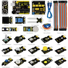 Keyestudio ARDUBLOCK Graphical Programming Starter Kit for Arduino starter Compatible+UNOR3/Dup0nt Lines(China)