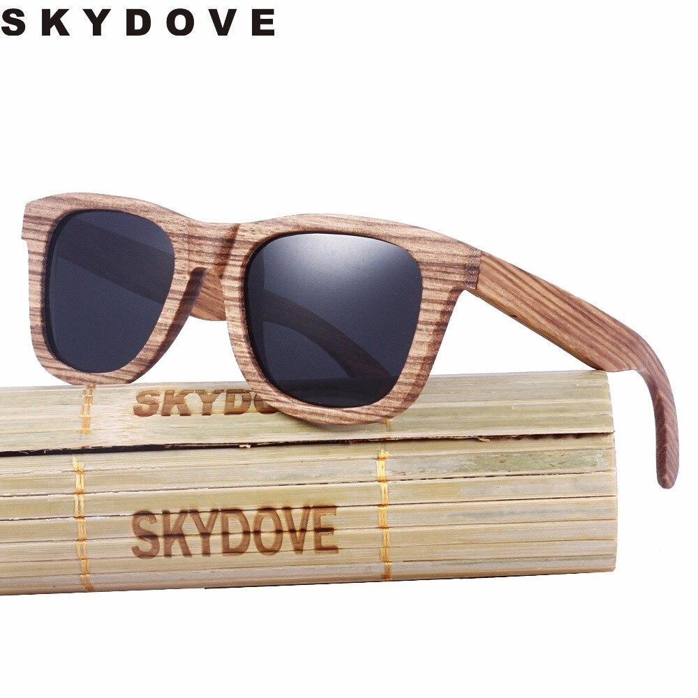 SKYDOVE Vintage Wooden Sunglasses Framess