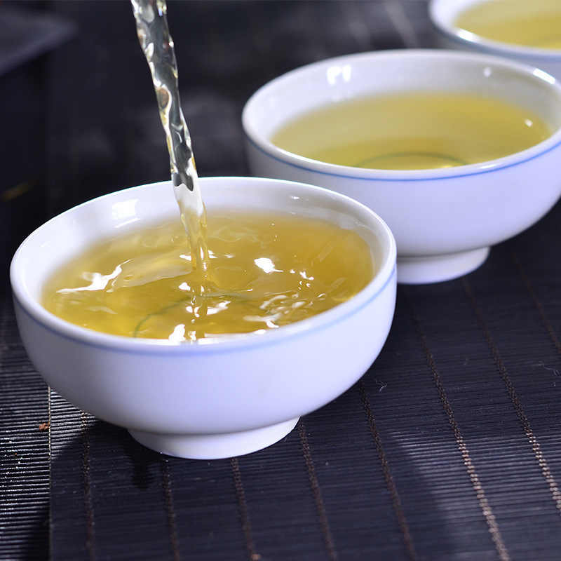 Китайский натуральный органический Би чай Ло Чунь чай АА цзяншу зеленый чай высокий Маутейн Би чай Ло Чунь чай юньву чай