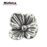 Mistletoe Jewelry Genuine 925 Sterling Silver Lovers Faith Charm Bead Fits European Brand 3.0mm Bracelet