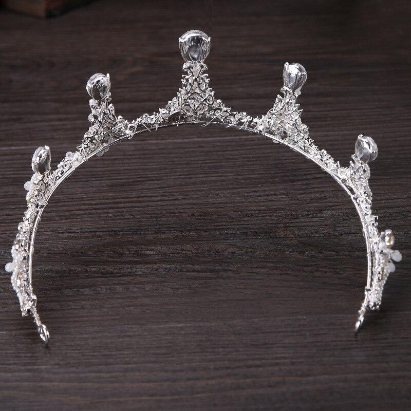 1pc New Popular Simple Temperament High-end Exquisite Crown Tiaras Bridesmaid Bride Hair Comb Wedding Bridal Accessories Jewelry