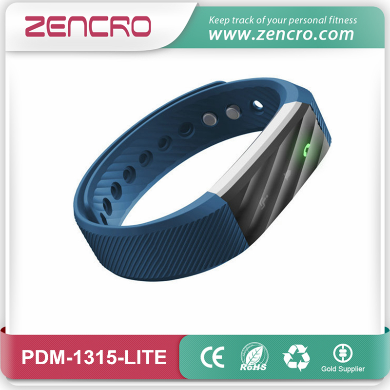 Zencro Manufacturer Smart Fitness Tracker Pedometer Watch Bluetooth Wristband for Veryfit
