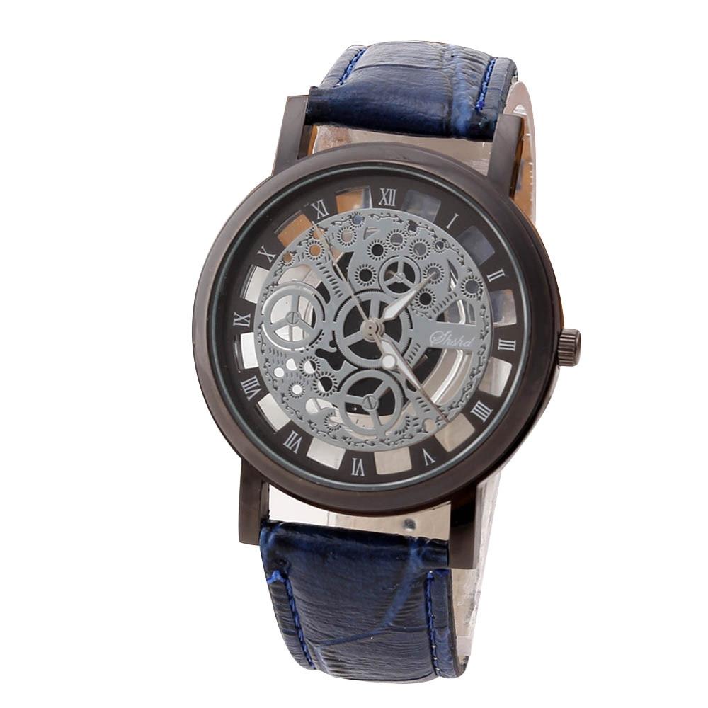 Hommes montres haut marque de luxe en acier inoxydable décontracté or Quartz analogique Date montre-bracelet de haute qualité pour livraison directe S7 9