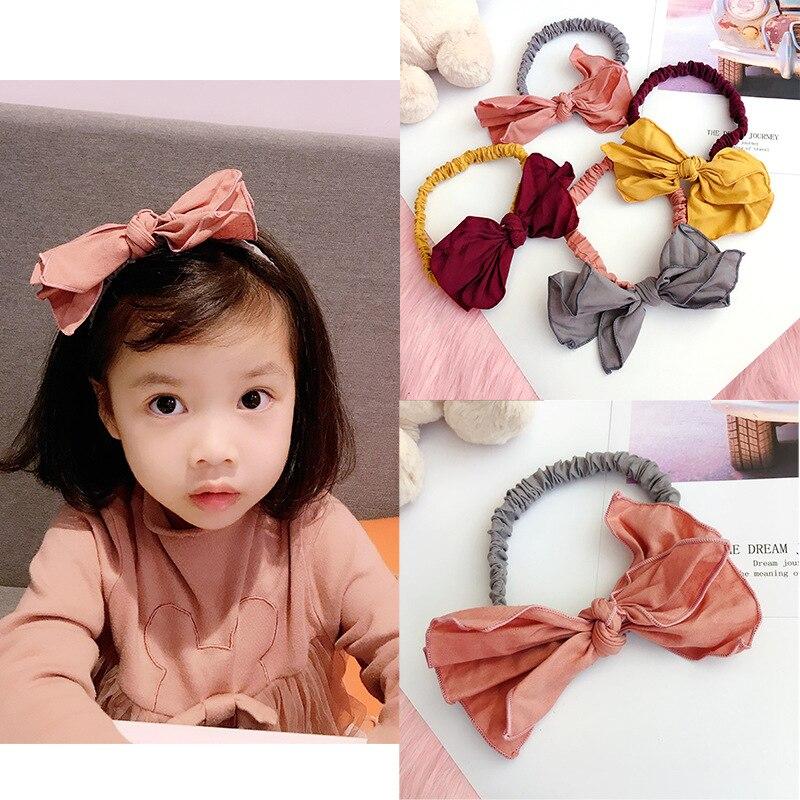 Girl's Hair Accessories Korea Handmade Wool Cherry Rubber Hair Band Hair Accessories Headwear Girls Elastic Headband For Women Hair Bows 5