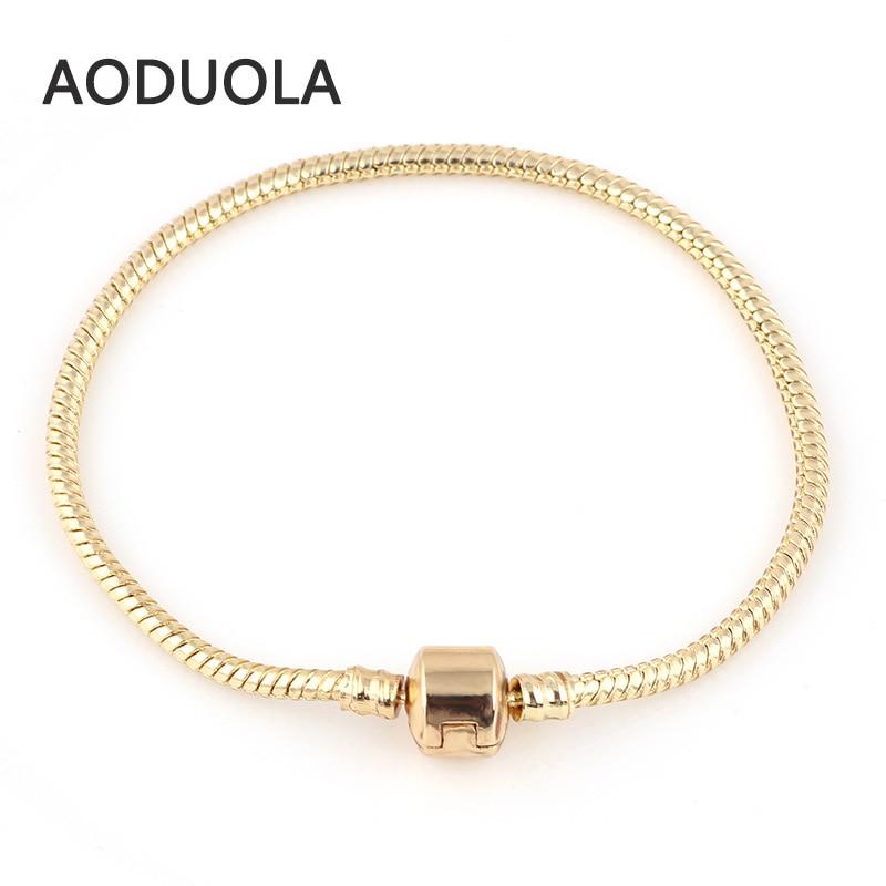 Չամիլիայի ապարանջաններ Ոսկե գույնի - Նորաձև զարդեր - Լուսանկար 3