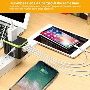 Image 2 - Rdxone Plug Adaptor travel adapter Universal Power Adapter Charger for US UK EU AU wall Electric Plugs Sockets Converter