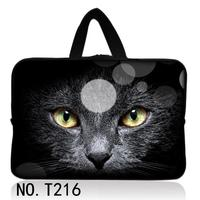 Black Cat Laptop Cover Case For Macbook Pro Air Retina 11 13 15 Ultrabook Notebook Sleeve