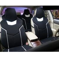 Автокресло Обложки Pad для Nissan соглашения Teana Qashqai Bluebird Ливна CRV Роскошный Универсальный Размеры авто подушка три слоя сетка