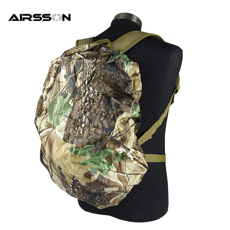 30-40L Waterproof Backpack Rucksack Dust Rain Cover Backpack Rain Protect zx