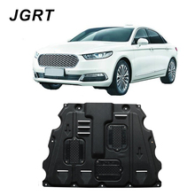 Car styling For Ford Taurus Plastic steel engine guard 2015-2018 For Taurus Engine skid plate fender 1pc