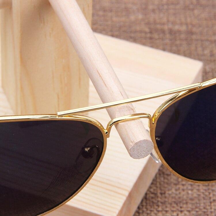 Купить с кэшбэком TONVIC Wood Display Stand For Sunglass 3D Glass Glasses Display Stand Holder Rack Easy Assembly New Arrival