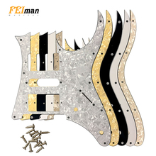 Pleroo Guitar accessories pickguards suit for Ibanez RG 350 EX Japan MIJ Guitar Humbucker Pickup Scratch Plate ibanez gsd50 design guitar strap