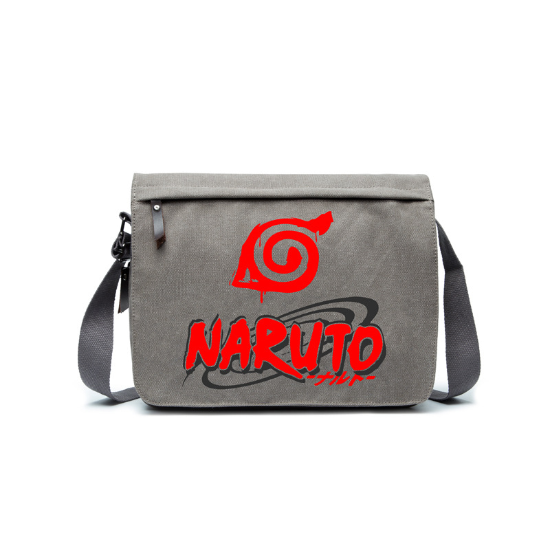 Anime Game Concept Shoulder Canvas Bag Game Fans Anime Fans Daily Use A4 Magazine Bag Ab253-3