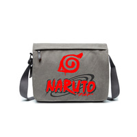 HOT anime game NARUTO concept shoulder canvas bag game fans anime fans daily use A4 magazine bag ab253 3