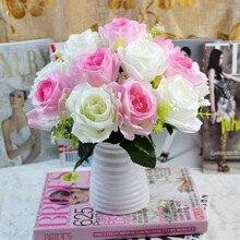 Modern Plastic Vase Flower Arrangement Home Decoration