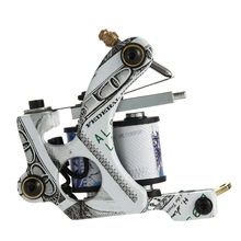 10 Wrap Coils Permanent Tattoo Machine Shader & Liner Carbon Steel Rotary Assorted Tatoo Motor Gun Instrument Tools