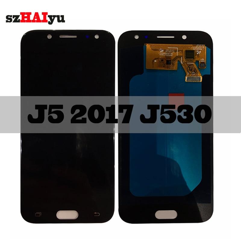 SZHAIYU Touch Screen Digitizer For Samsung Galaxy J5 Pro 2017 J530 J530F J530FN SM-J530F LCD Display 1280x720 AMOLED LCD 5.0inchSZHAIYU Touch Screen Digitizer For Samsung Galaxy J5 Pro 2017 J530 J530F J530FN SM-J530F LCD Display 1280x720 AMOLED LCD 5.0inch