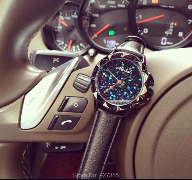 AAA Women Watches Full Rhinestone Luxury Lady Wristwatches Genuine Leather Dress Watch Women Quartz Watch Bracelet Gift Watches