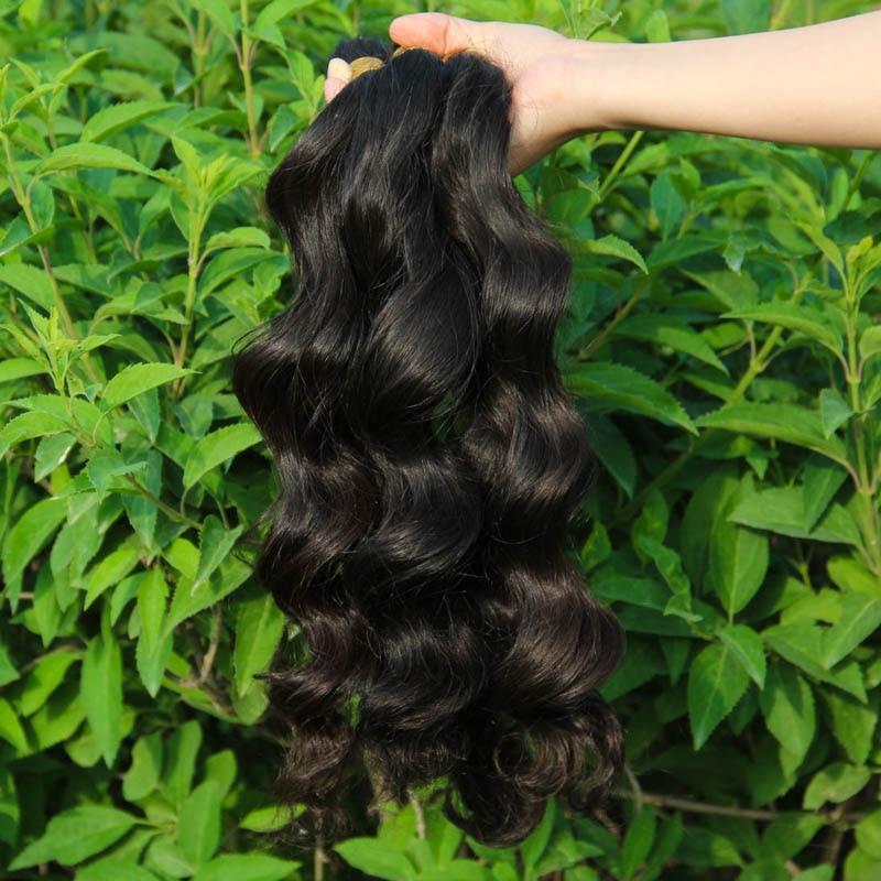1KG Human Braiding Hair Bulk no weft Human Hair Bulk for Braiding Human Hair for Braiding Bulk Body Wave Brazilian Hair Bulk