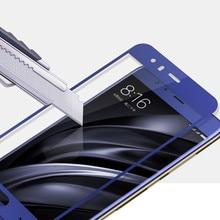 wholesale Tempered glass for Xiaomi mi6 mi 6 m6 full Screen Protector 9H Protective Film cover