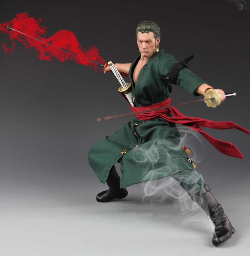 1/6 Scale One Piece Roronoa Zoro Model Action Figure Toys For Collections