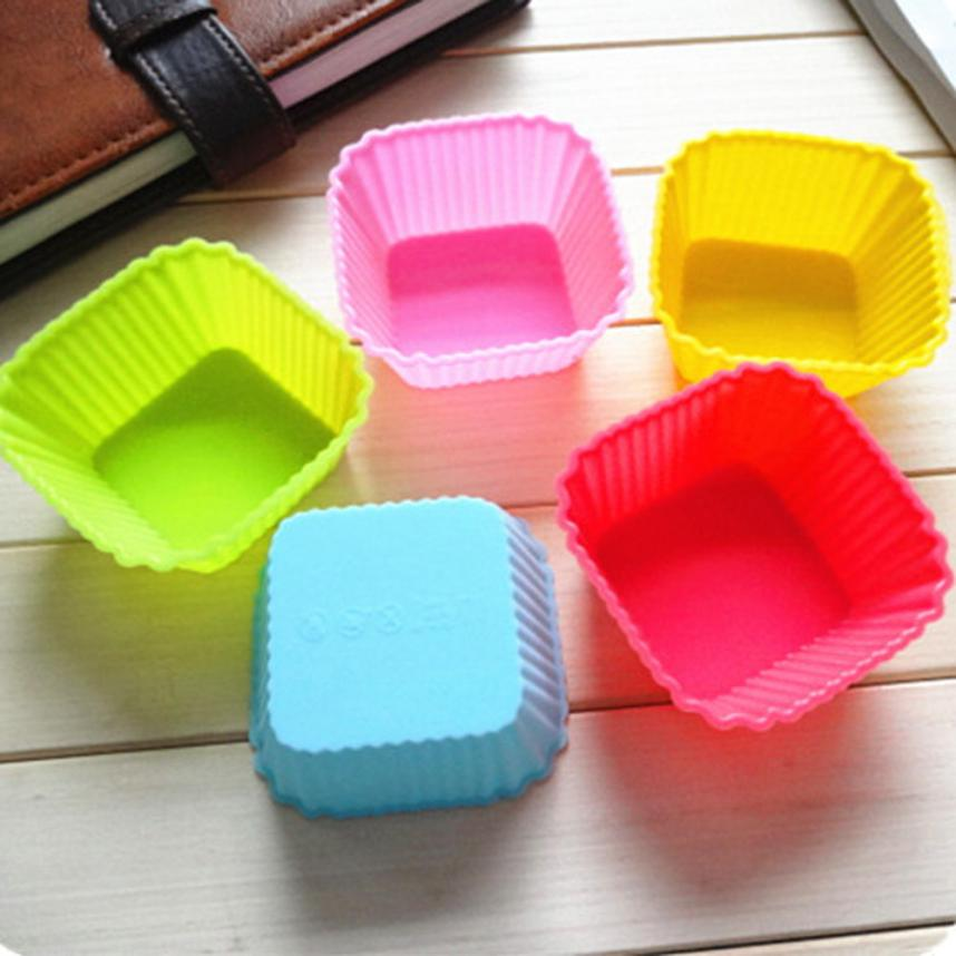 12PC Kitchen Craft Cake Cup Chocolate Liners Baking Cupcake Cases Muffin Cake Accessoires Patisserie Cake Stencil Set Cake Tools