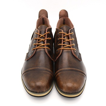 Handmade Genuine leather Men's Ankle Boots