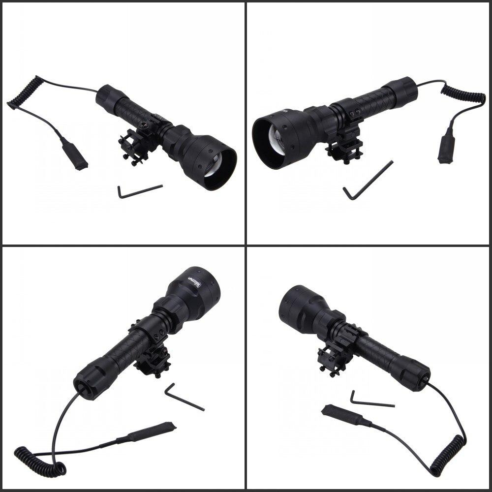 lanterna infravermelha + 25mm rifle montagem interruptor