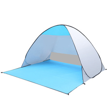 Automatic Camping Tent  2 Persons Tent Instant Pop Up Open Anti UV Summer Beach Awning Tents Outdoor Sunshelter automatic camping tent 2 persons beach tent uv protection shelter outdoor tent instant pop up summer tent fishing hiking