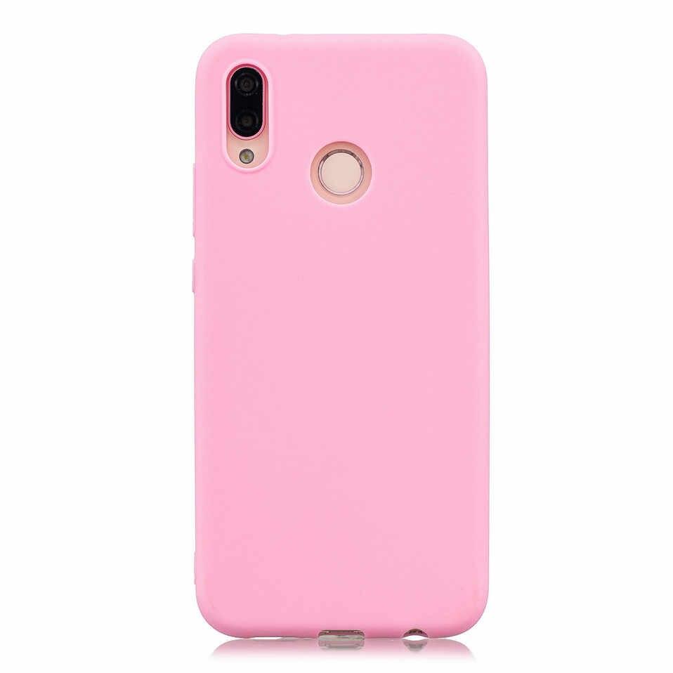 Untuk Huawei P Smart Case Cover Warna-warni Lembut Funda Topias untuk Huawei P10 P20 Lite P8 P9 Lite 2017 P20 pro Y5 Y6 Prime 2018 Kasus