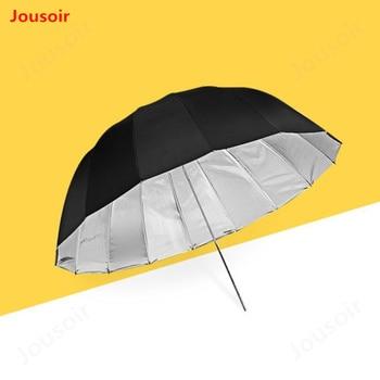 51inch (130cm) Parabolic Umbrella -Professional  outside Black Inner Silver Umbrella Reflector for Strobe Speedlight CD15